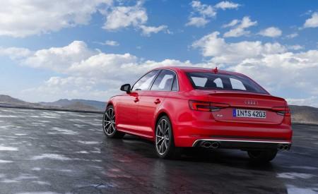 2019 Audi S4 Sedan TDI (Color: Misano Red) Rear Three-Quarter Wallpapers 450x275 (32)