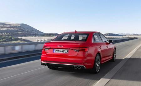 2019 Audi S4 Sedan TDI (Color: Misano Red) Rear Three-Quarter Wallpapers 450x275 (28)