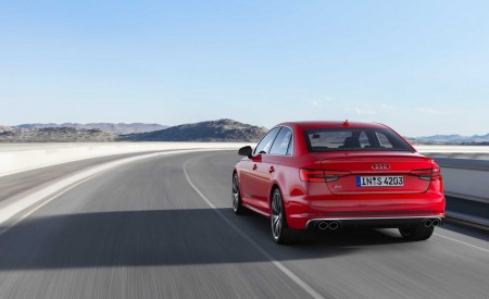 2019 Audi S4 Sedan TDI (Color: Misano Red) Rear Wallpapers 450x275 (29)