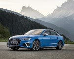 2019 Audi S4 TDI (Color: Turbo Blue) Front Three-Quarter Wallpapers 150x120 (7)
