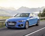 2019 Audi S4 TDI (Color: Turbo Blue) Front Three-Quarter Wallpapers 150x120 (3)