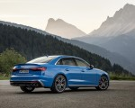 2019 Audi S4 TDI (Color: Turbo Blue) Rear Three-Quarter Wallpapers 150x120 (11)