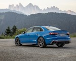 2019 Audi S4 TDI (Color: Turbo Blue) Rear Three-Quarter Wallpapers 150x120 (10)