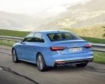 2019 Audi S4 TDI (Color: Turbo Blue) Rear Three-Quarter Wallpapers 150x120 (4)