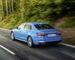 2019 Audi S4 TDI (Color: Turbo Blue) Rear Three-Quarter Wallpapers 150x120 (5)