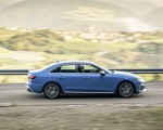 2019 Audi S4 TDI (Color: Turbo Blue) Side Wallpapers 150x120 (6)