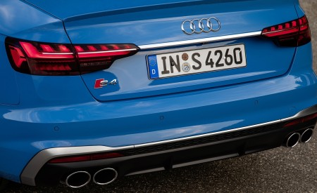 2019 Audi S4 TDI (Color: Turbo Blue) Tail Light Wallpapers 450x275 (17)