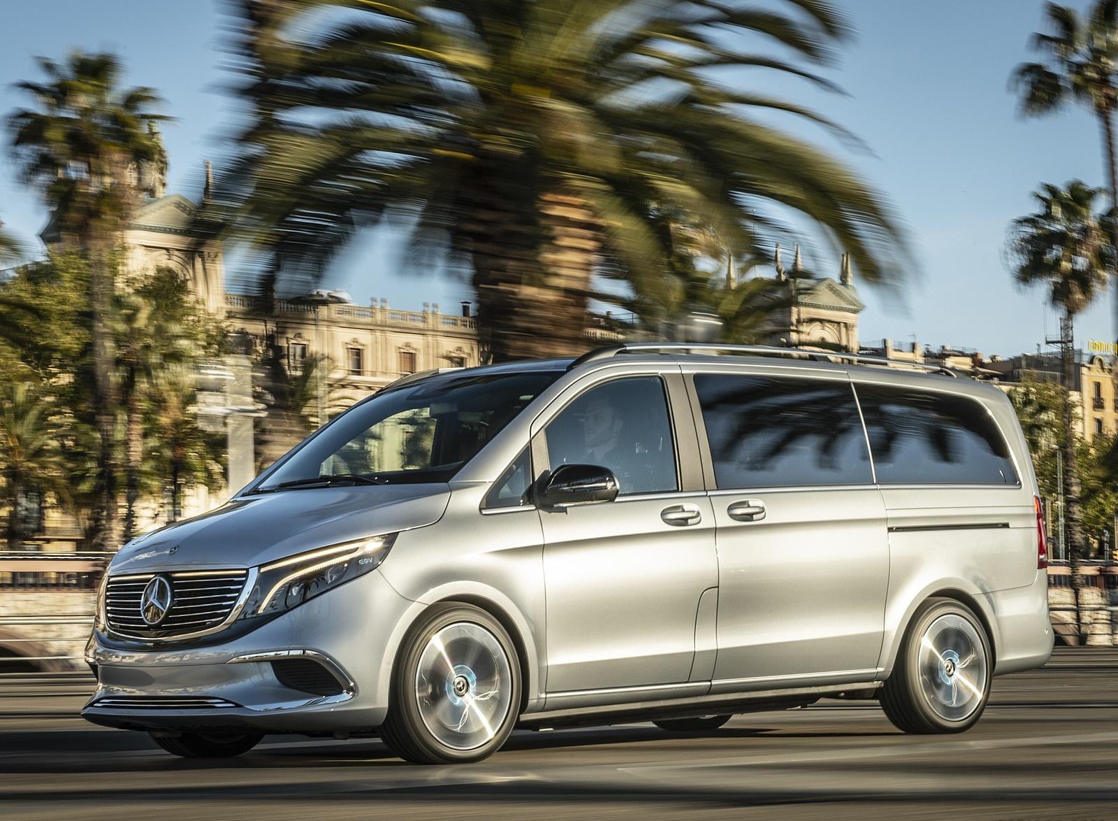 2019 Mercedes-Benz Concept EQV Front Three-Quarter Wallpapers (1)