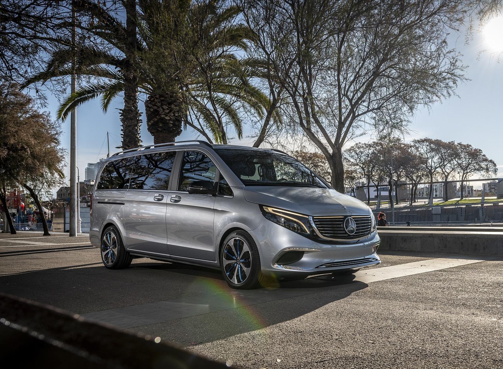 2019 Mercedes-Benz Concept EQV Front Three-Quarter Wallpaper (12)