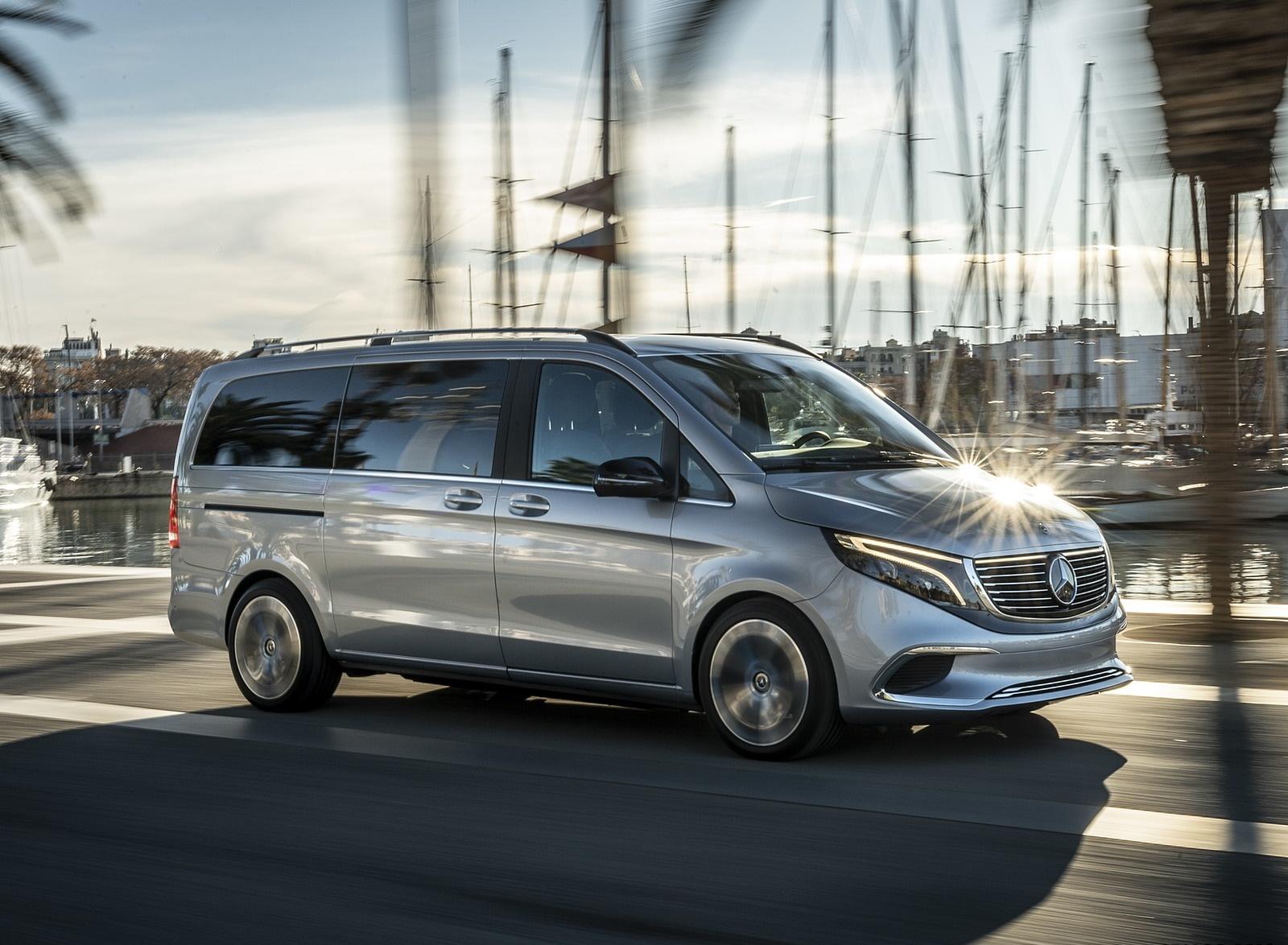 2019 Mercedes-Benz Concept EQV Front Three-Quarter Wallpaper (13)