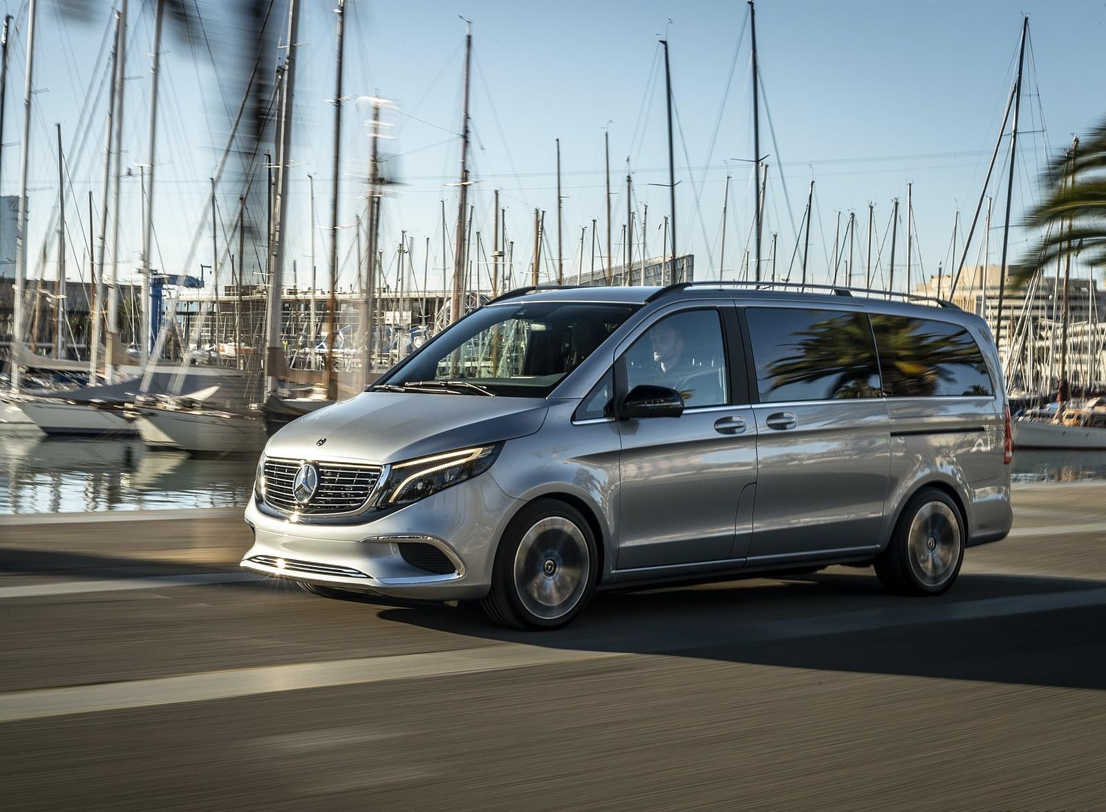 2019 Mercedes-Benz Concept EQV Front Three-Quarter Wallpapers (3)