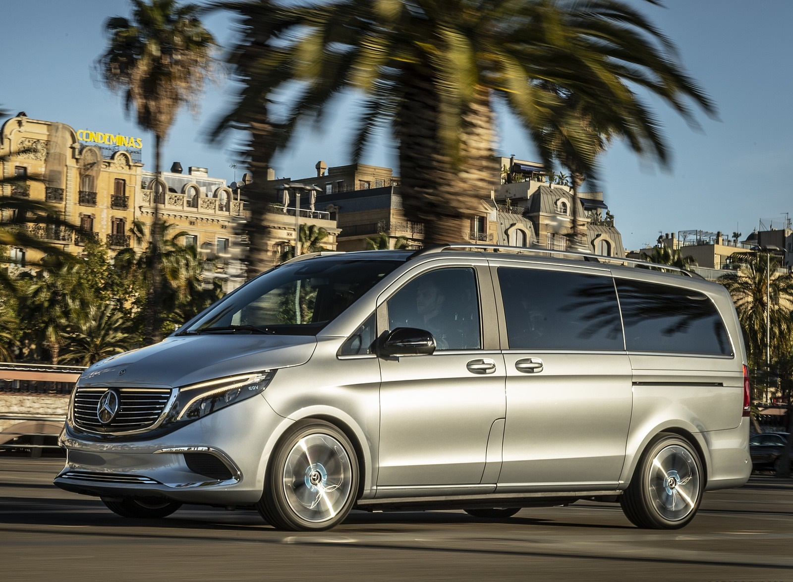 2019 Mercedes-Benz Concept EQV Front Three-Quarter Wallpapers (4)