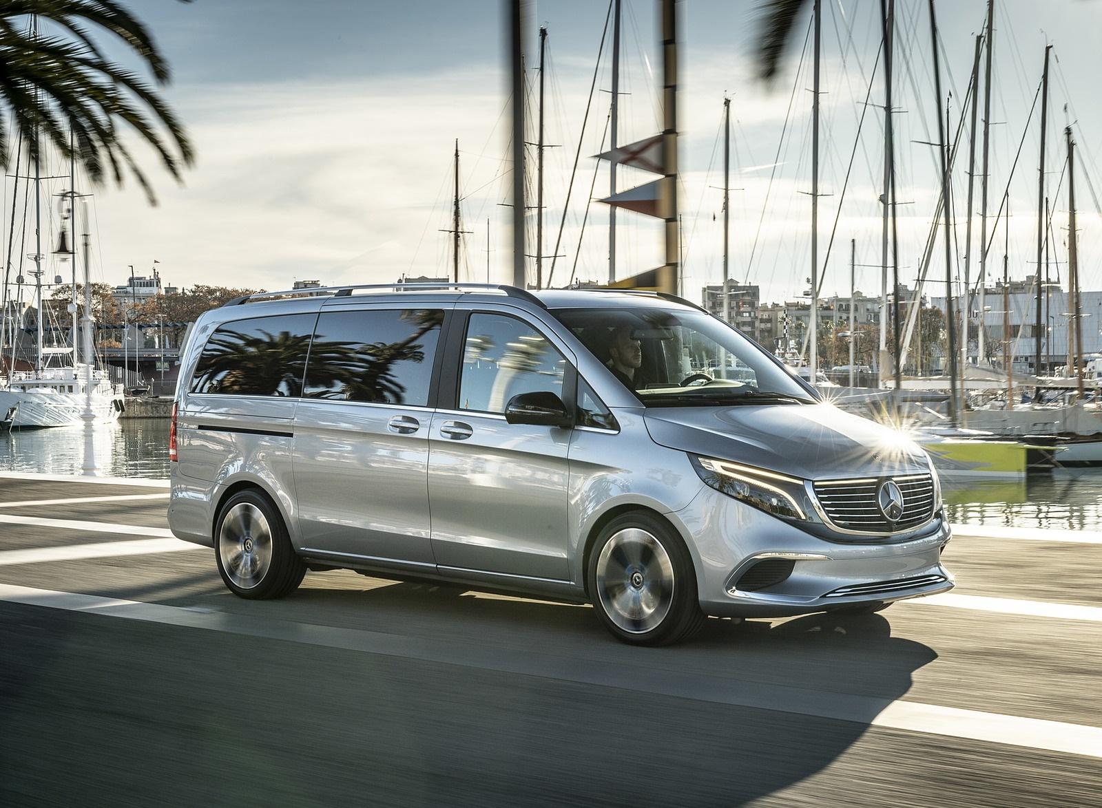 2019 Mercedes-Benz Concept EQV Front Three-Quarter Wallpaper (14)