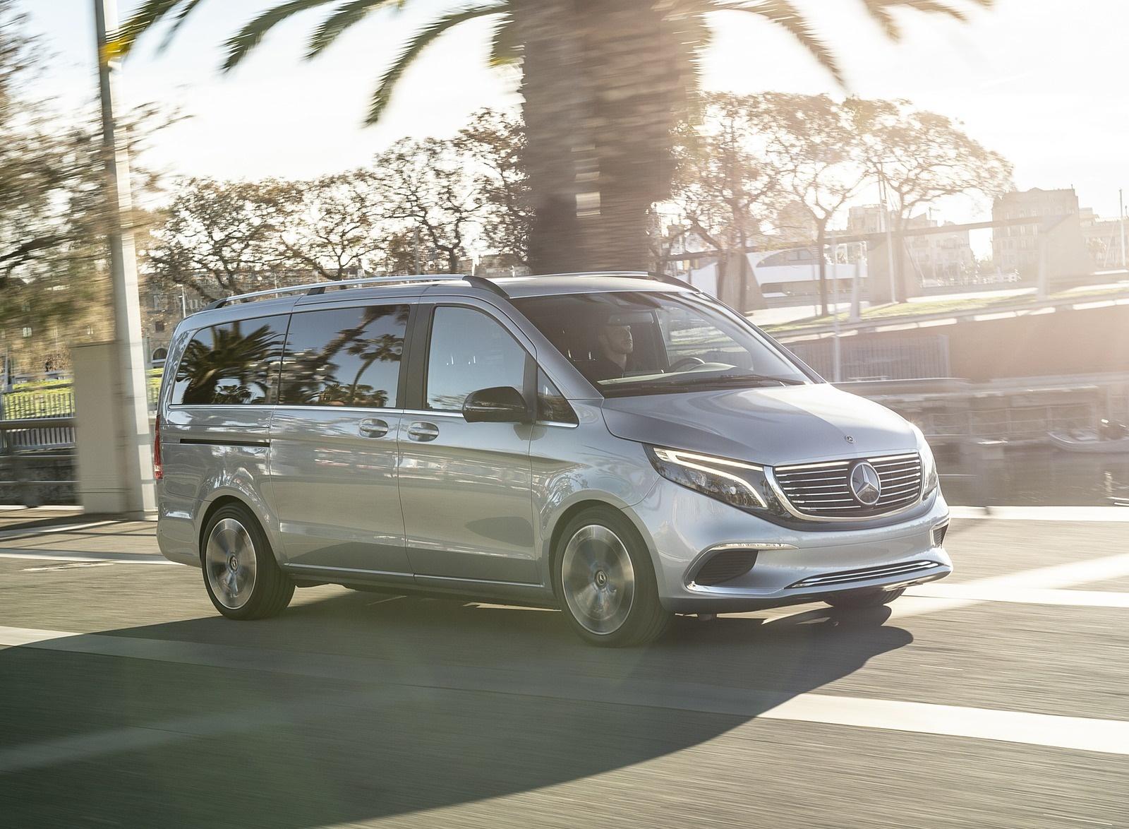 2019 Mercedes-Benz Concept EQV Front Three-Quarter Wallpapers (5)