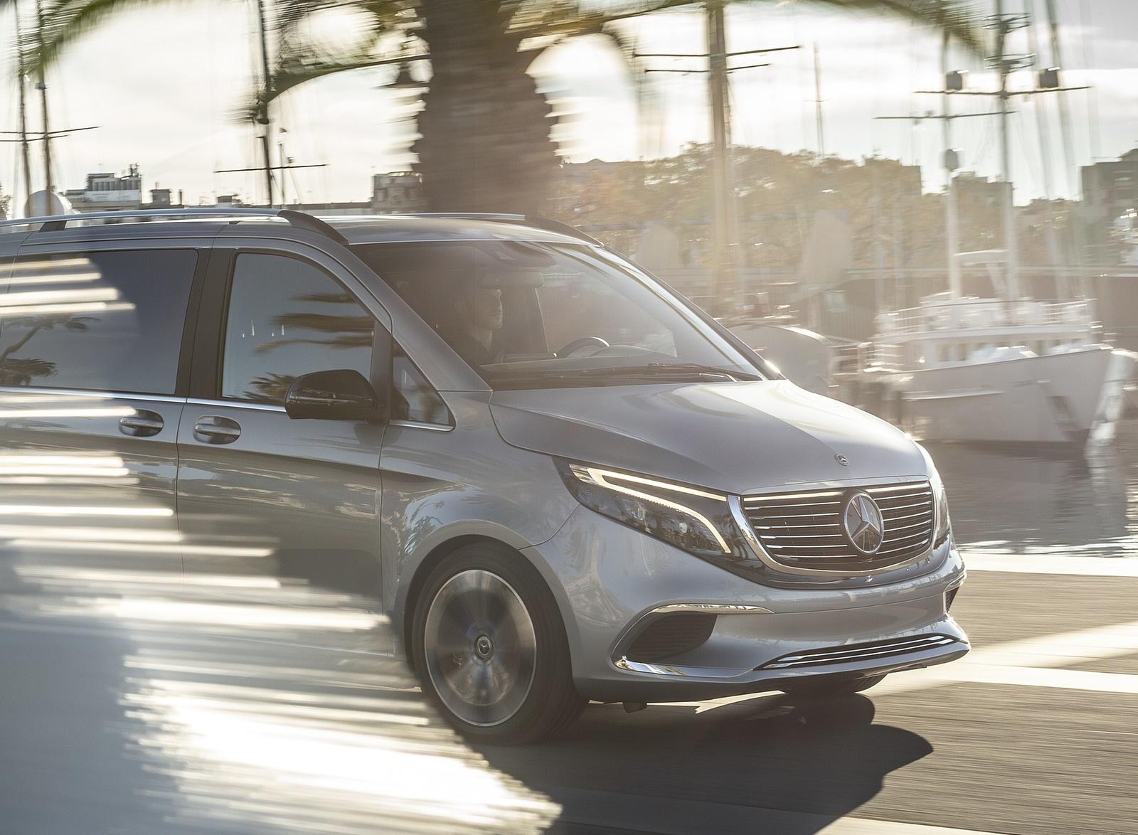 2019 Mercedes-Benz Concept EQV Front Wallpapers (6)