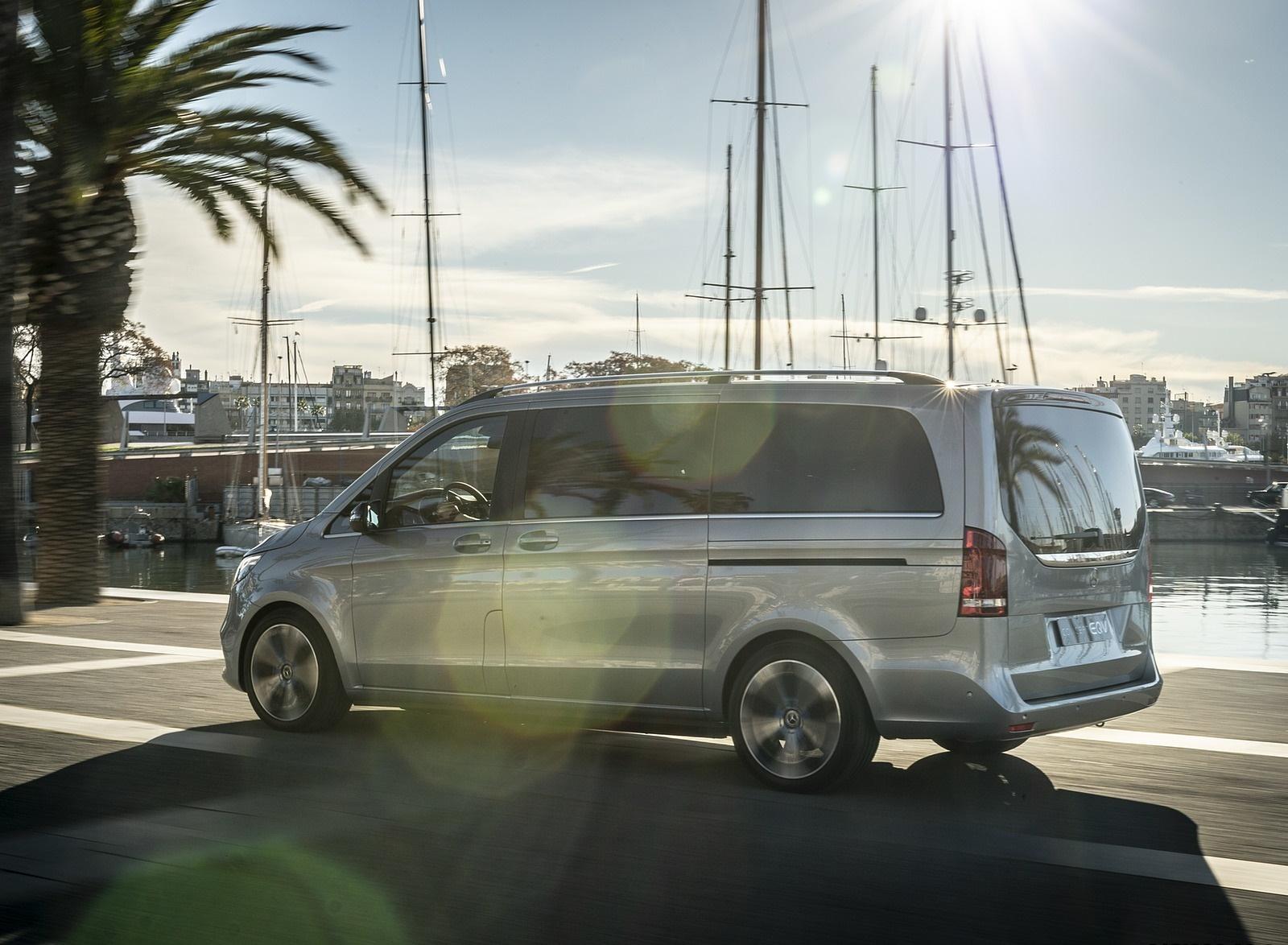 2019 Mercedes-Benz Concept EQV Rear Three-Quarter Wallpapers (9)