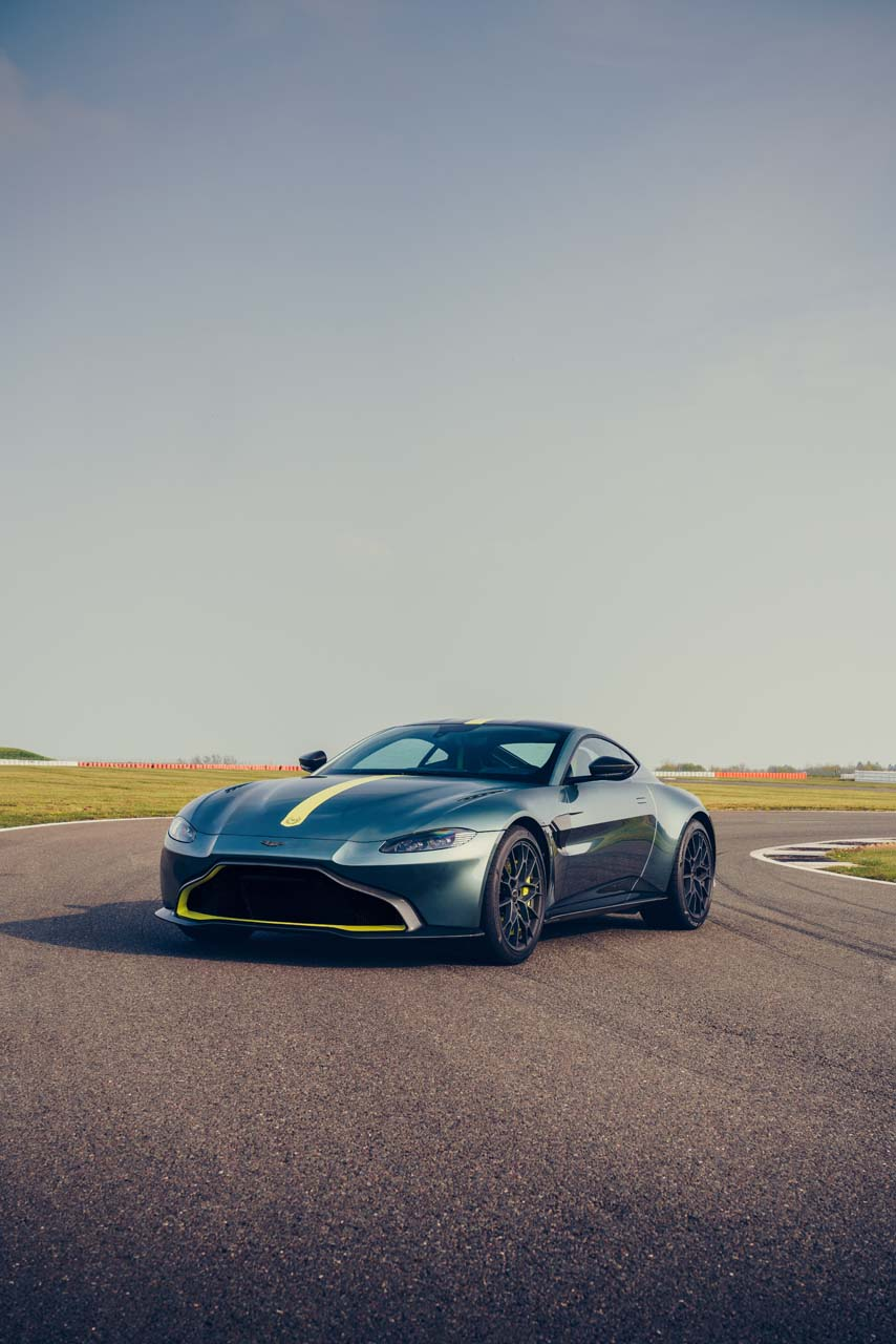 2020 Aston Martin Vantage AMR Front Three-Quarter Wallpapers (7)
