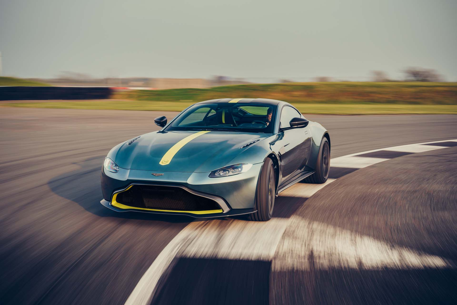 2020 Aston Martin Vantage AMR Front Wallpapers (1)