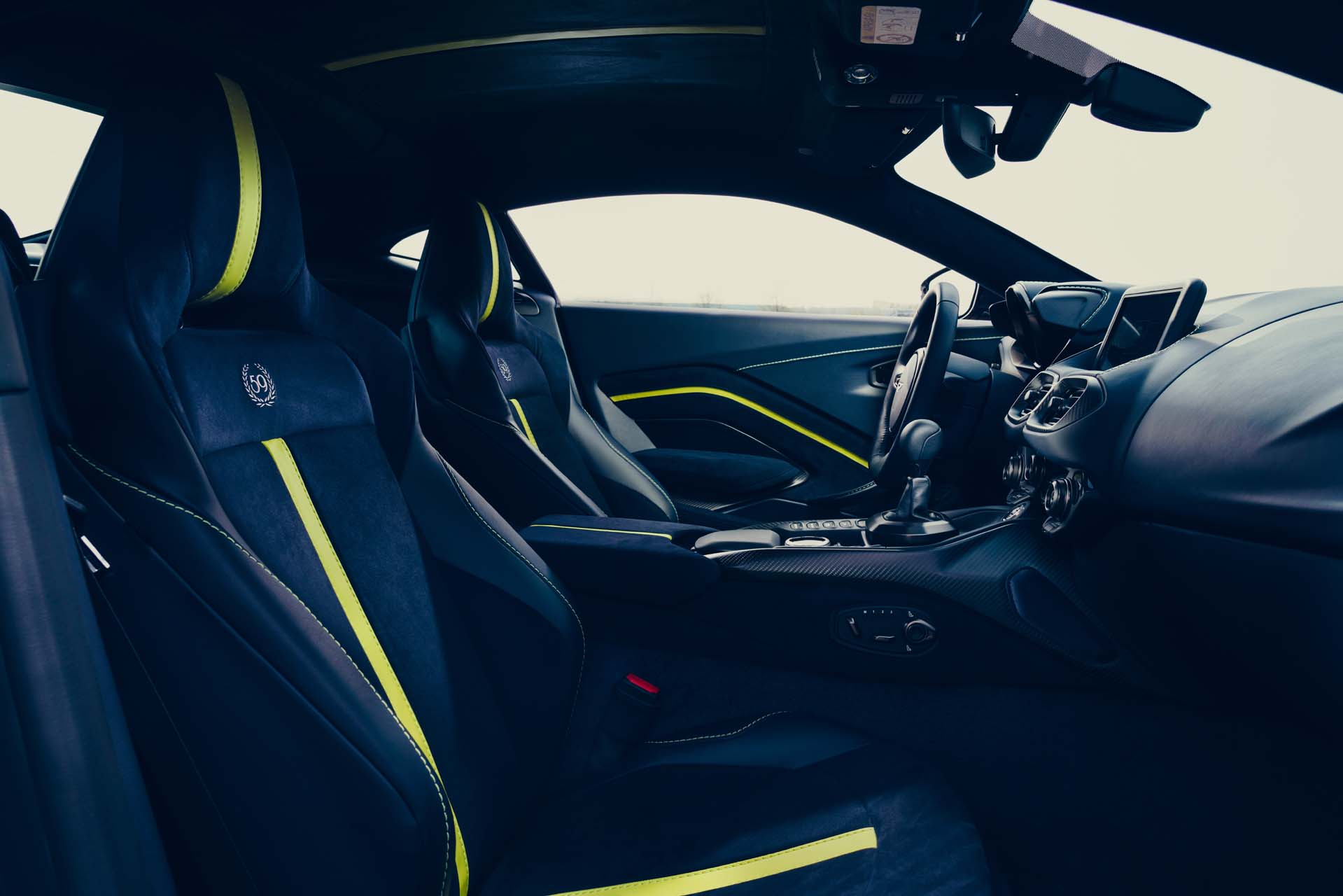 2020 Aston Martin Vantage AMR Interior Wallpapers (12)