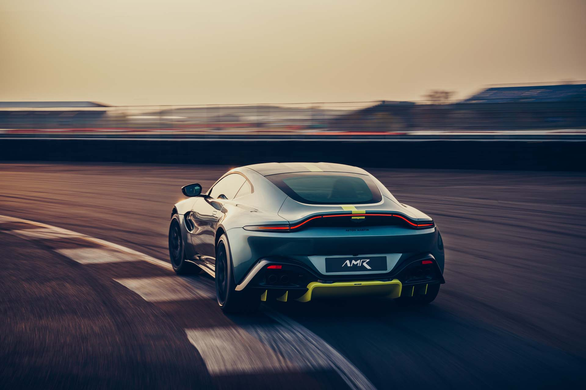 2020 Aston Martin Vantage AMR Rear Three-Quarter Wallpapers (3)