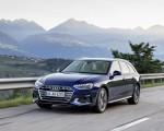2020 Audi A4 Avant (Color: Navarra Blue) Front Three-Quarter Wallpapers 150x120 (27)