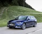 2020 Audi A4 Avant (Color: Navarra Blue) Front Three-Quarter Wallpapers 150x120 (30)