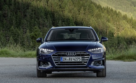 2020 Audi A4 Avant (Color: Navarra Blue) Front Wallpapers 450x275 (40)