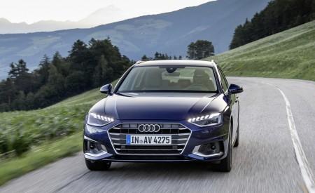 2020 Audi A4 Avant (Color: Navarra Blue) Front Wallpapers 450x275 (32)