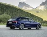 2020 Audi A4 Avant (Color: Navarra Blue) Rear Three-Quarter Wallpapers 150x120 (41)