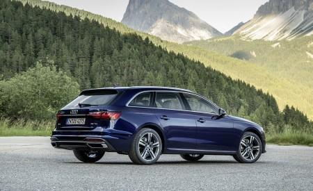 2020 Audi A4 Avant (Color: Navarra Blue) Rear Three-Quarter Wallpapers 450x275 (41)