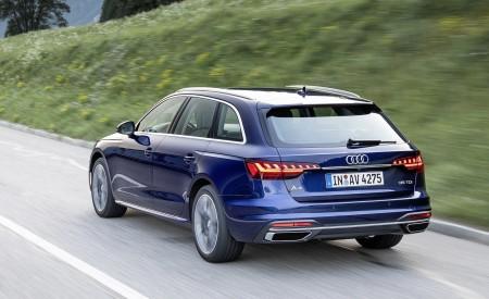 2020 Audi A4 Avant (Color: Navarra Blue) Rear Three-Quarter Wallpapers 450x275 (33)