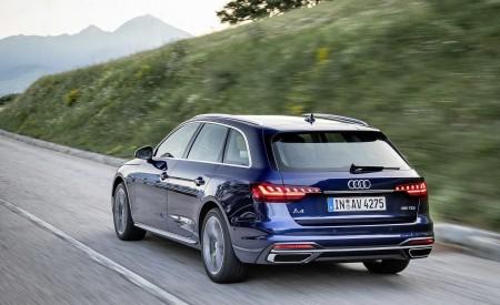 2020 Audi A4 Avant (Color: Navarra Blue) Rear Three-Quarter Wallpapers 450x275 (34)
