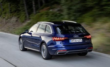 2020 Audi A4 Avant (Color: Navarra Blue) Rear Three-Quarter Wallpapers 450x275 (35)