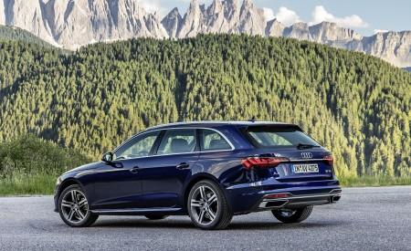 2020 Audi A4 Avant (Color: Navarra Blue) Rear Three-Quarter Wallpapers 450x275 (42)