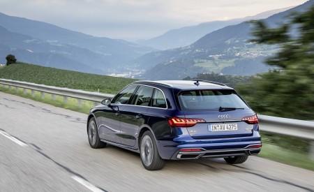 2020 Audi A4 Avant (Color: Navarra Blue) Rear Three-Quarter Wallpapers 450x275 (36)