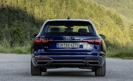 2020 Audi A4 Avant (Color: Navarra Blue) Rear Wallpapers 450x275 (43)