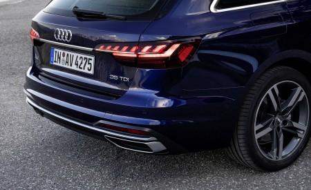 2020 Audi A4 Avant (Color: Navarra Blue) Tail Light Wallpapers 450x275 (44)