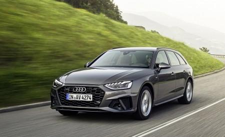 2020 Audi A4 Avant (Color: Terra Gray) Front Three-Quarter Wallpapers 450x275 (2)