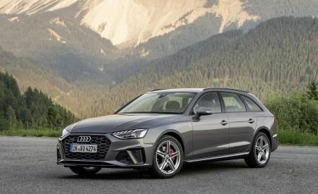 2020 Audi A4 Avant (Color: Terra Gray) Front Three-Quarter Wallpapers 450x275 (9)