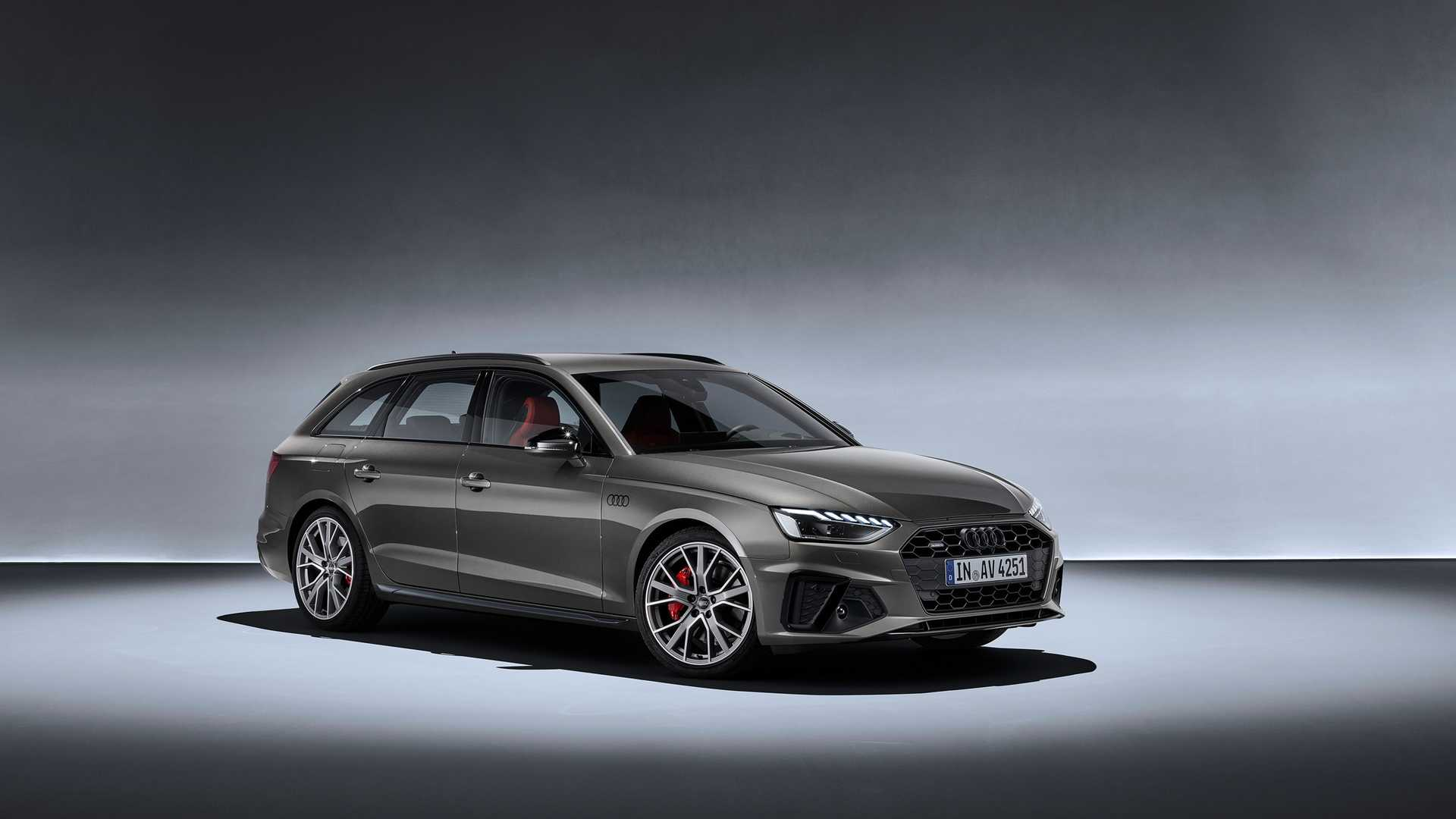 2020 Audi A4 Avant (Color: Terra Gray) Front Three-Quarter Wallpapers (7)