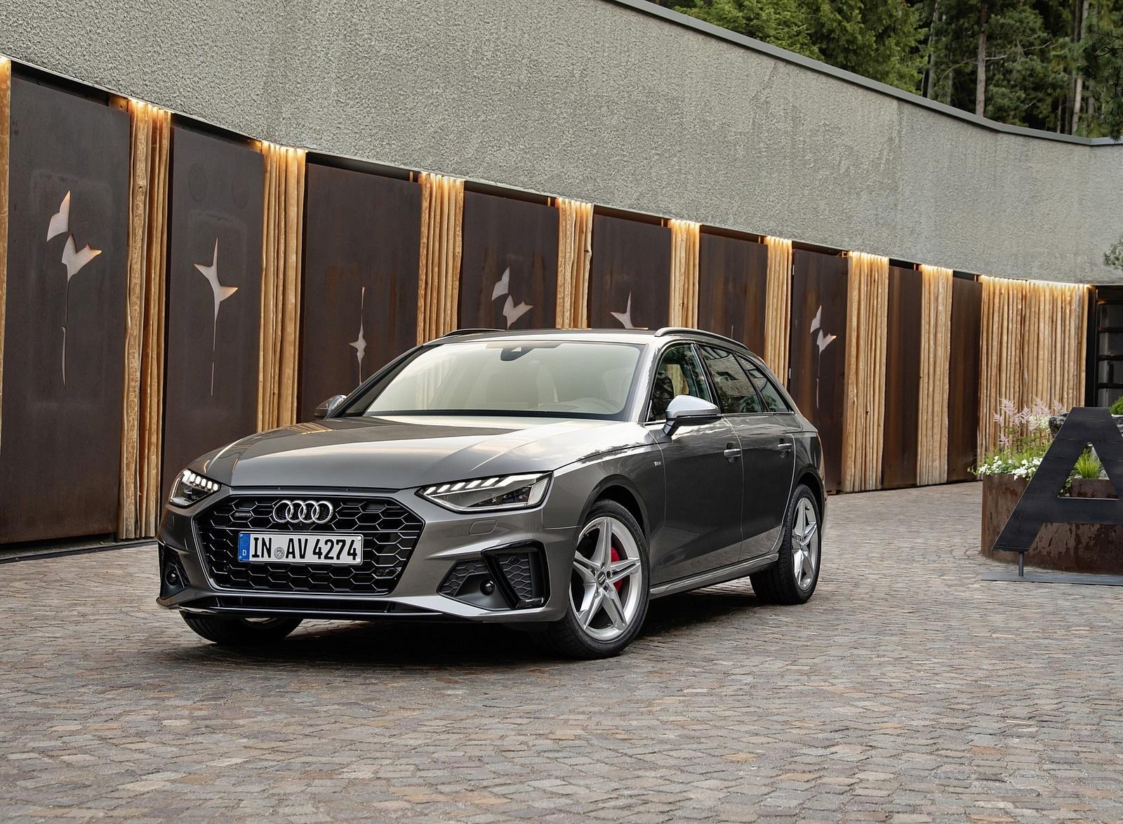 2020 Audi A4 Avant (Color: Terra Gray) Front Three-Quarter Wallpapers (10)