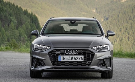 2020 Audi A4 Avant (Color: Terra Gray) Front Wallpapers 450x275 (11)