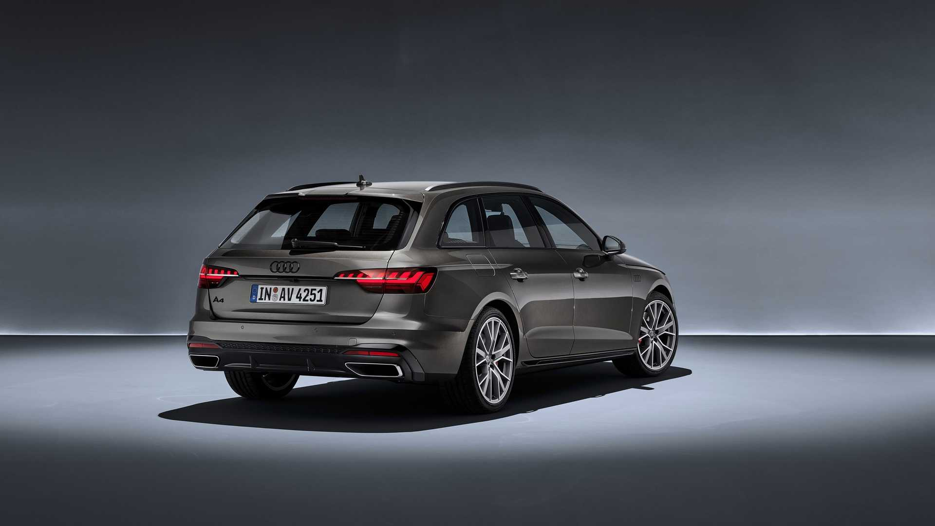 2020 Audi A4 Avant (Color: Terra Gray) Rear Three-Quarter Wallpapers (9)