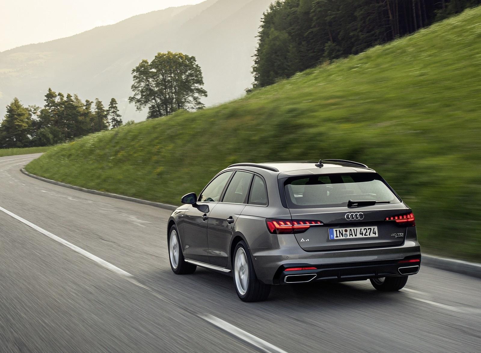 2020 Audi A4 Avant (Color: Terra Gray) Rear Three-Quarter Wallpapers (5)