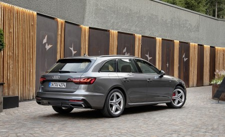 2020 Audi A4 Avant (Color: Terra Gray) Rear Three-Quarter Wallpapers 450x275 (14)
