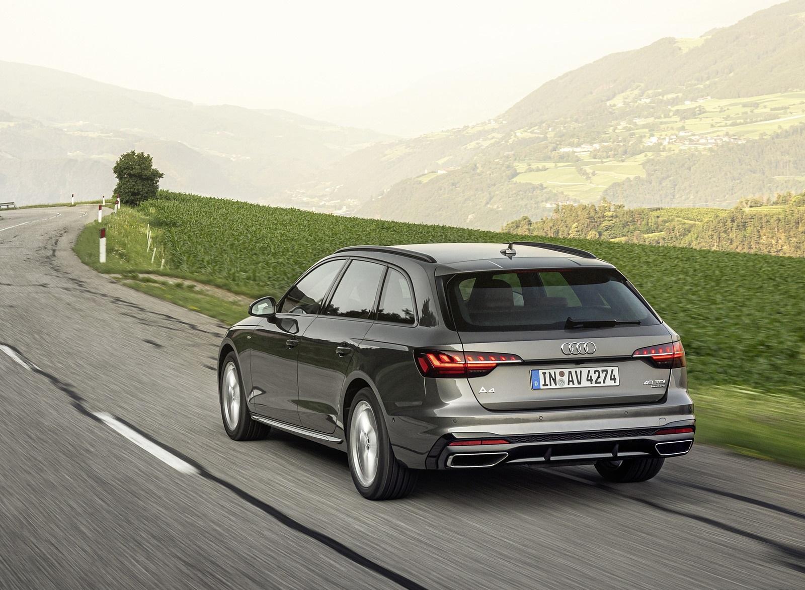2020 Audi A4 Avant (Color: Terra Gray) Rear Three-Quarter Wallpapers (6)