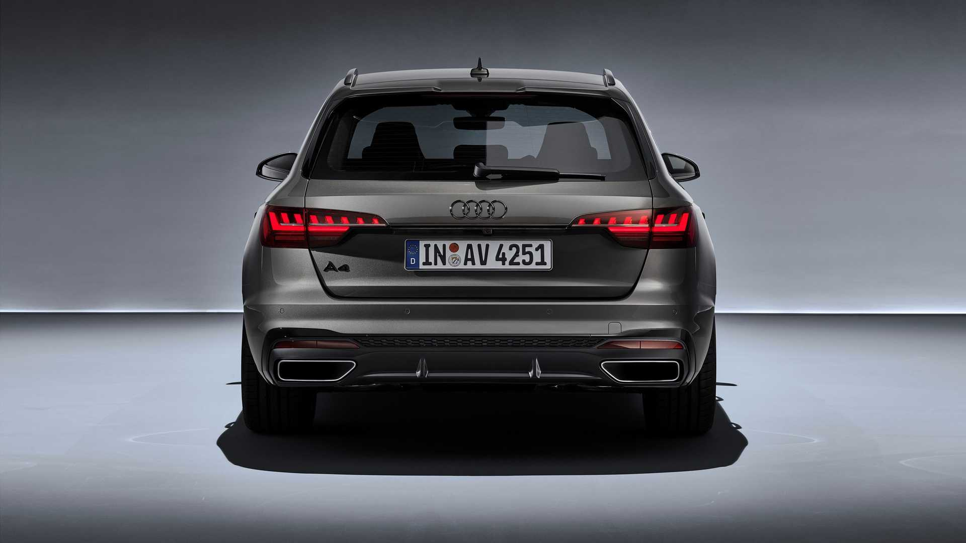 2020 Audi A4 Avant (Color: Terra Gray) Rear Wallpapers (11)