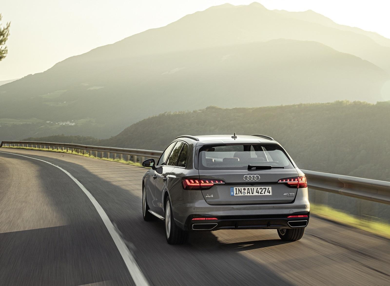 2020 Audi A4 Avant (Color: Terra Gray) Rear Wallpapers (7)