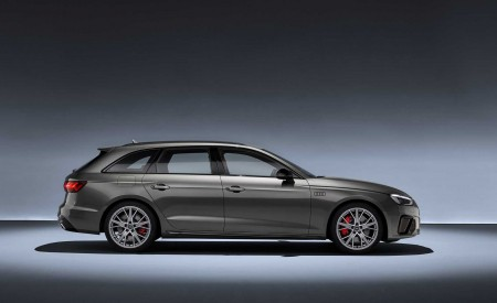 2020 Audi A4 Avant (Color: Terra Gray) Side Wallpapers 450x275 (61)