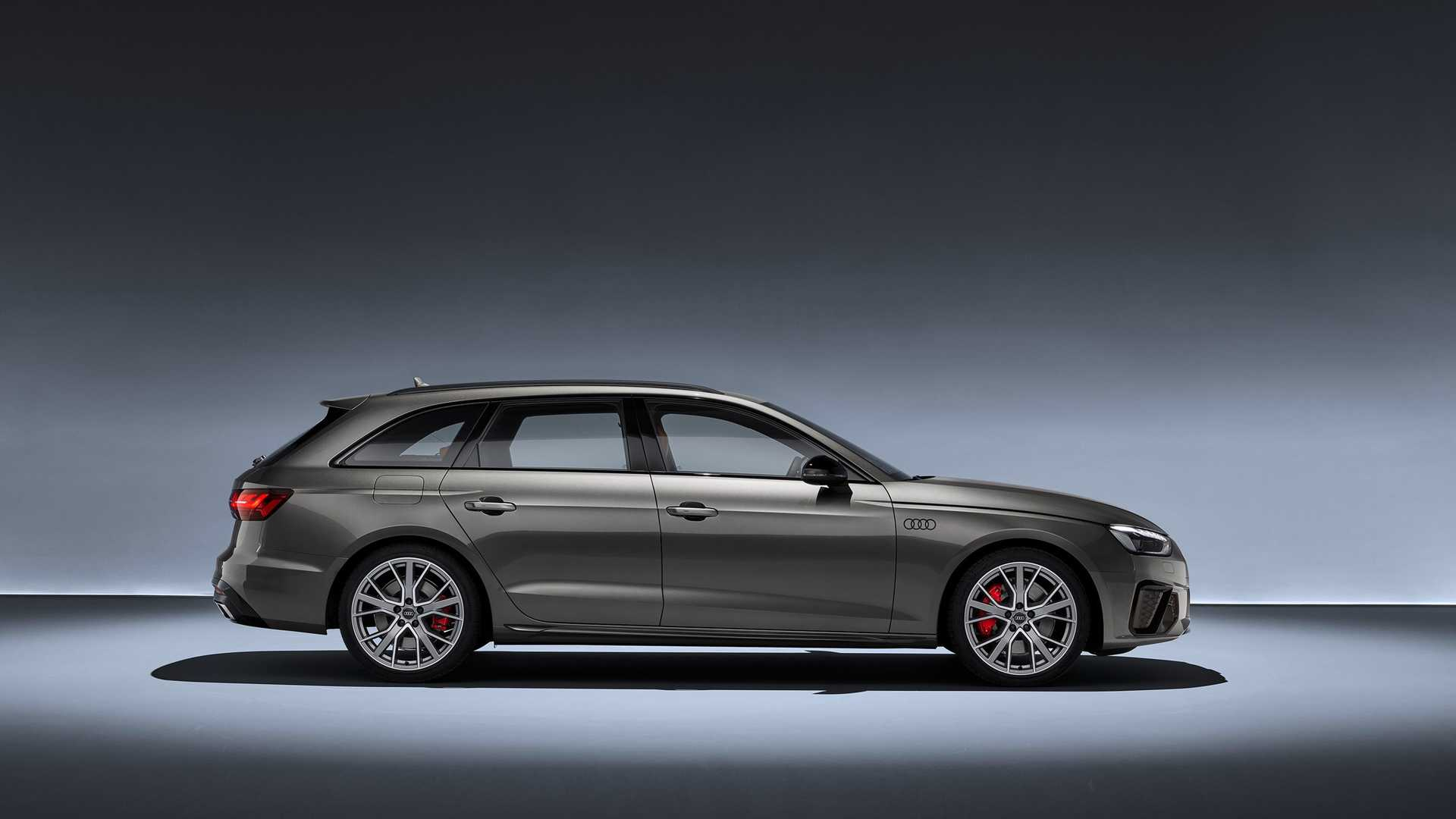 2020 Audi A4 Avant (Color: Terra Gray) Side Wallpapers (12)